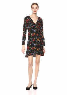 kensie Women's Winter Floral Dress  XS
