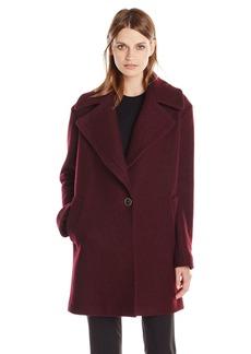 Kensie Women's Wool Cocoon Coat