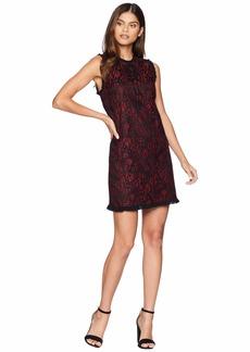 Kensie Lace Lines Dress KS9K8291