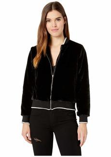 Kensie Luxe Fur Jacket KSDK2312