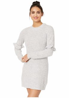 Kensie Melange Knit Sweater Dress KSDK8326