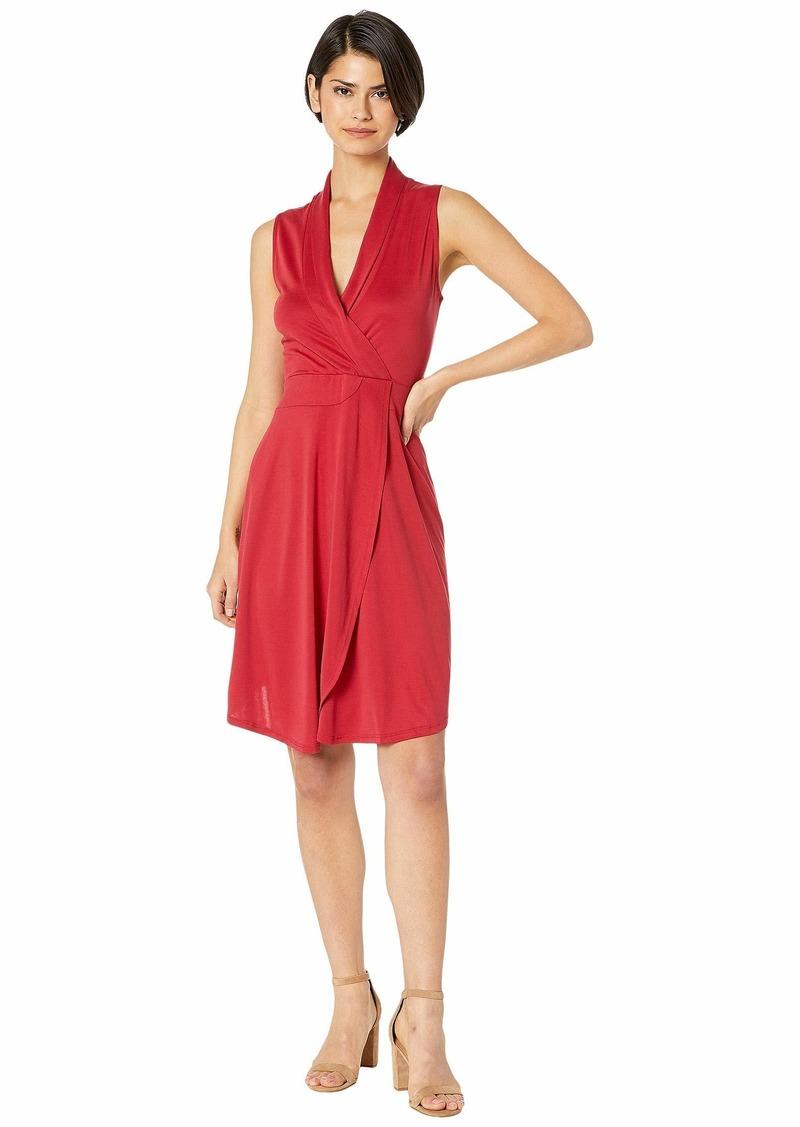 Kensie Modal Jersey Faux Wrap Dress KS5K8254