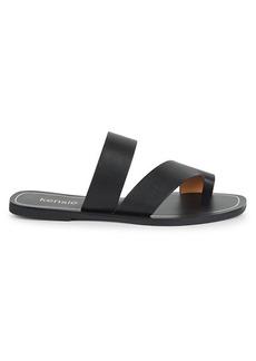 Kensie Nica Toe-Loop Flat Sandals