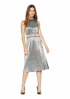 Kensie Pleated Shine Dress KSNK8315