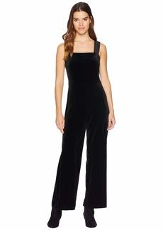 Kensie Plush Velvet Jumpsuit KSNU7086