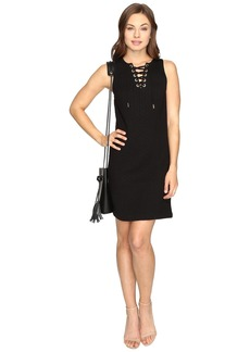 Kensie Quilted Braids Dress KSDK7483