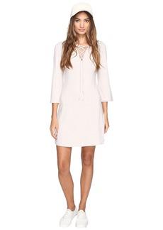 Kensie Rib Lace-Up Dress KS2U7007