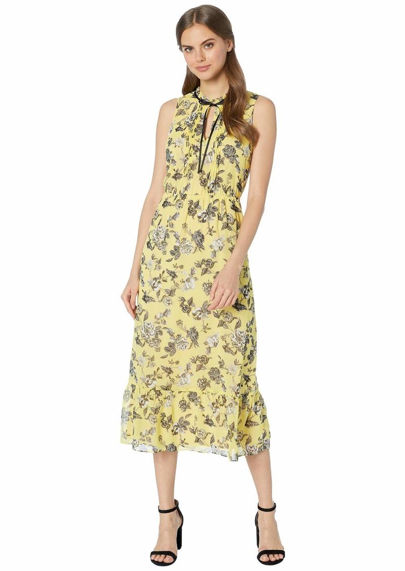 Kensie Romantic Rose Sleeveless Dress KS6K8378