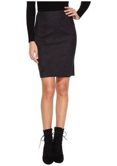 Kensie Scuba Suede Skirt KS0U6181