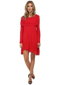 Kensie Sheer Viscose Tees Dress KS1K7392