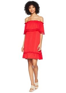 Kensie Slinky Knit Off the Shoulder Dress KS5K8196
