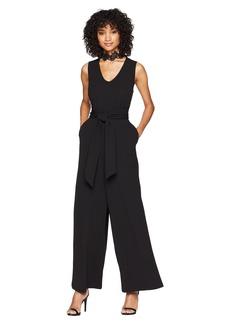 Kensie Smooth Stretch Crepe Jumpsuit KS6K8288