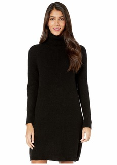 Kensie Soft Fuzzy Knit Long Sleeve Sweater Dress KSDK8386
