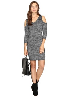 Kensie Space Dye Jersey Dress KSDK7418