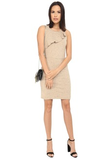 Kensie Streaky Slub Ponte Dress KS2K7838
