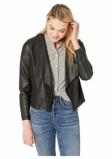 Kensie Stretch Faux Leather Jacket KS2K2314