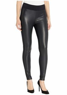 Kensie Stretch Faux Leather Leggings KS9K1252