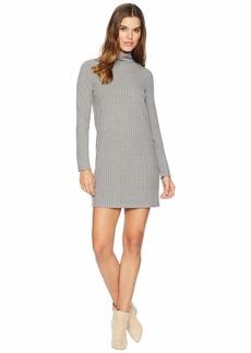 Kensie Sweater - Like Rib Dress with Turtleneck KS0K8308
