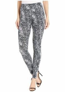 Kensie Textured Snake Skin Printed Leggings KS1K1336