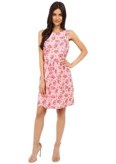 Kensie Tropical Brocade Dress KS5K7936
