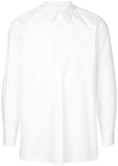 Kent & Curwen buttoned pleat shirt