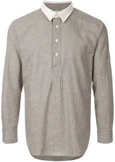 Kent & Curwen check print shirt