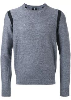 Kent & Curwen contrast trim jumper