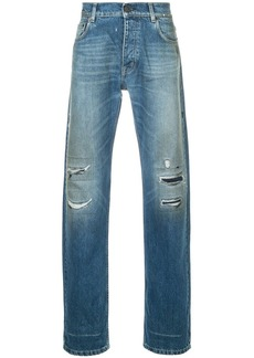 Kent & Curwen distressed jeans