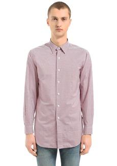 Kent & Curwen Horley Striped Cotton Tunic Shirt