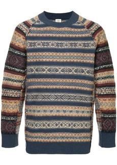 Kent & Curwen intarsia knit jumper