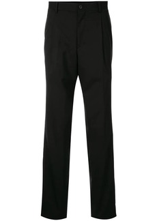 Kent & Curwen inverted pleat tailored trousers