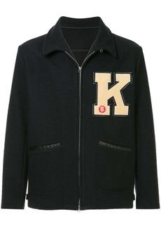 Kent & Curwen K logo woven jacket