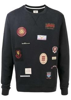 Kent & Curwen logo patch sweatshirt