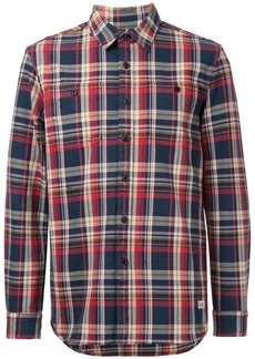 Kent & Curwen plaid shirt