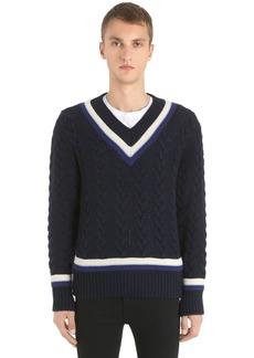 Kent & Curwen Superfine Wool Knit Sweater
