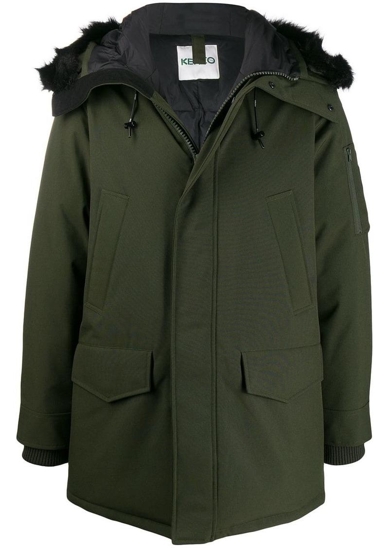 Kenzo padded parka coat