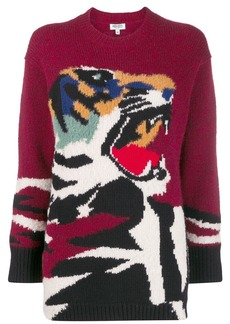 Kenzo oversized tiger sweater