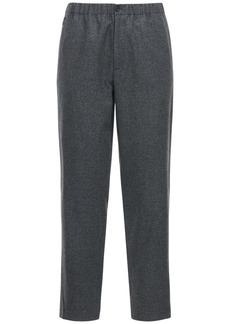 Kenzo 17cm Wool Blend Jogging Pants