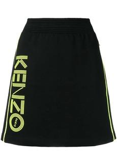 Kenzo A-line sports skirt