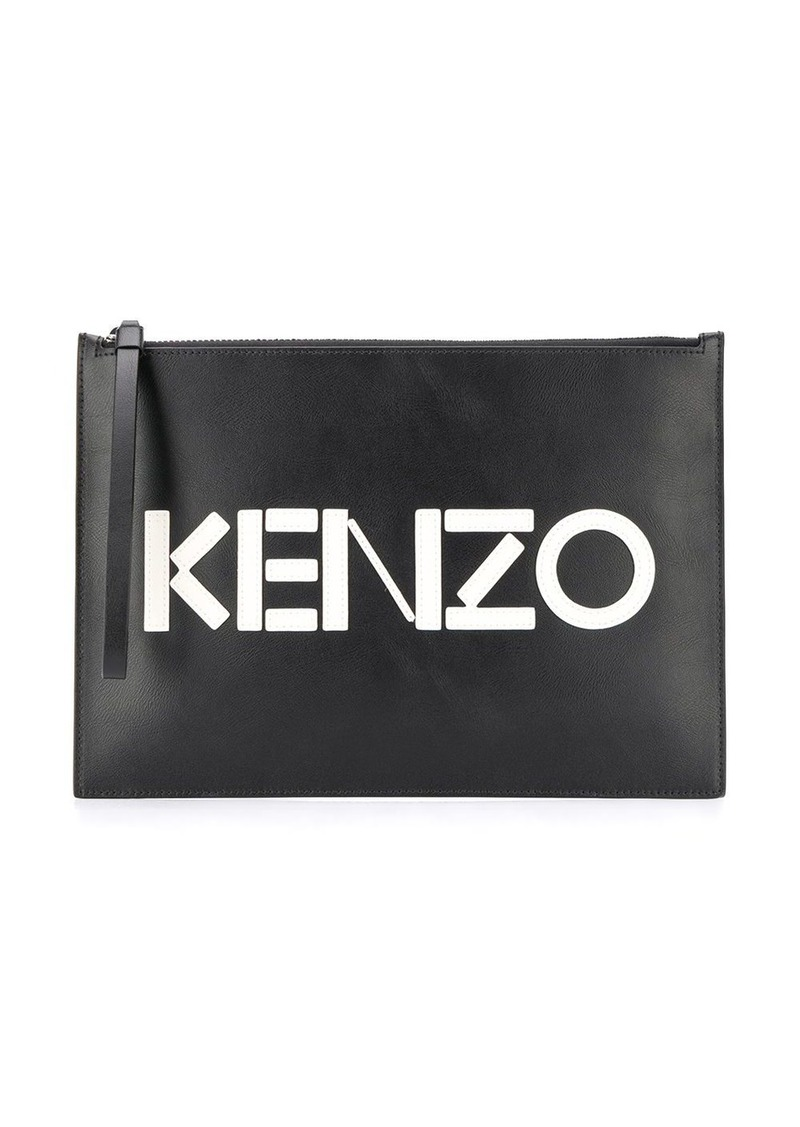 Kenzo A4 Colour Block clutch