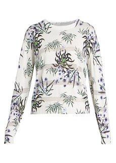 Kenzo Abstract Print Mesh Pullover