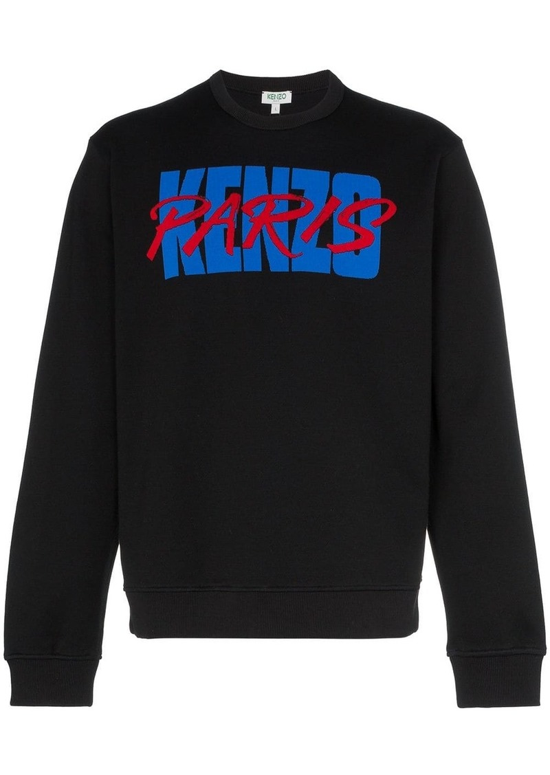 Kenzo Akira logo print sweatshirt