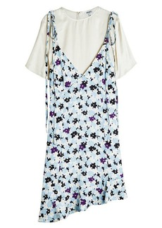 Kenzo Asymmetric Print Dress