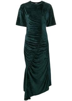 Kenzo asymmetric ruched dress
