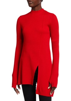 Kenzo Asymmetric Tunic Sweater