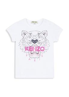 Kenzo Baby's & Little Girl's Tiger T-Shirt