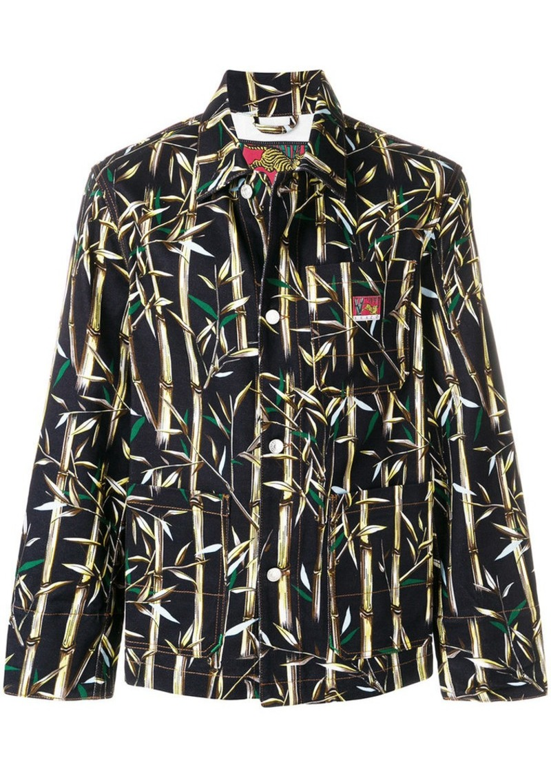fddcc2346 Kenzo bamboo print Memento jacket | Outerwear