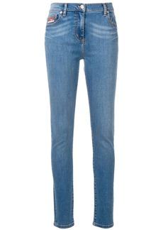 Kenzo Bamboo Tiger skinny jeans
