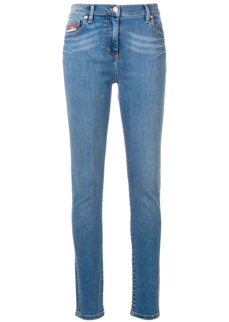 Kenzo Bamboo Tiger skinny jeans