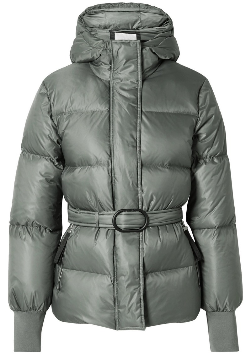 Kenzo Belted Quilted Shell Down Jacket